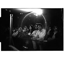 The crowd watching Jimi at the 03:05:69 show at Maple Leaf Gardens Photographic Print