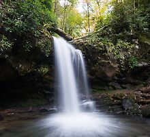 Grotto Falls – Great Smoky Mountains National Park, Tennessee by Jason Heritage