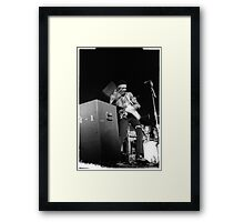 Jimi at the 03:05:69 show at Maple Leaf Gardens Framed Print