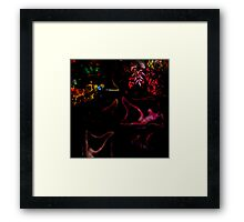 recling nude 1a Framed Print