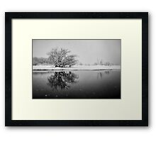 SnowAlone Framed Print