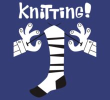 Knitting!  by DiabolickalPLAN