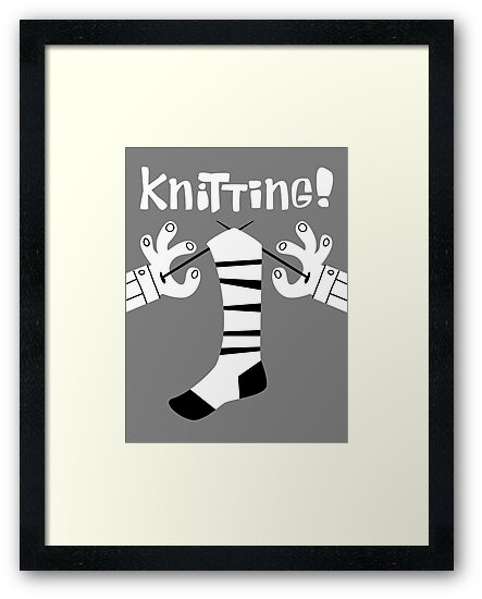Knitting!  by DiabolickalPLAN