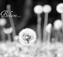 Believe - greeting card by Scott Mitchell