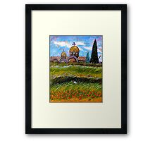 Place for Serenity Framed Print