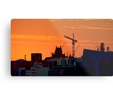 New Day over Newcastle Metal Print