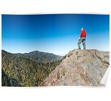 The View at Charles Bunion - Great Smoky Mountains National Park, Tennessee Poster