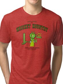Krickets can tell you the TEMPERATURE! Tri-blend T-Shirt