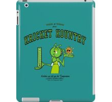 Krickets can tell you the TEMPERATURE! iPad Case/Skin