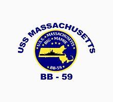 USS Massachusetts (BB-59) Crest Unisex T-Shirt