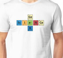 Science Geek  |  Periodic Table Unisex T-Shirt