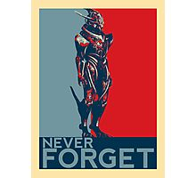 Marauder Shields - Never Forget Photographic Print