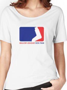 Major League Sox Fan Women's Relaxed Fit T-Shirt