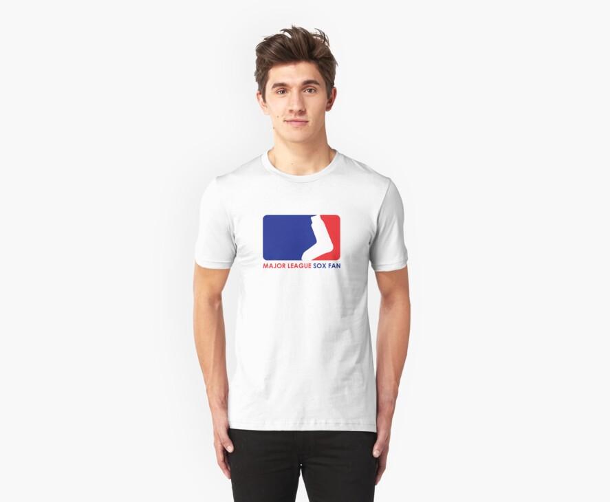Major League Sox Fan by WickedCool