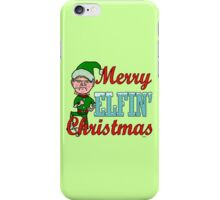 Funny Merry Elfin Christmas Bah Humbug iPhone Case/Skin