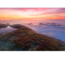 Sunset in La Jolla Photographic Print