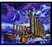 The Temple of Poseidon Photographic Print