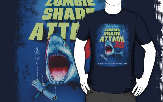 Zombie Shark Attack by robotrobotROBOT