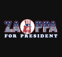 Zappa For President Shirt by RatRock