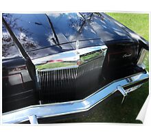 1978 Lincoln Continental Mark V Grill Poster