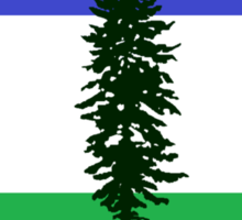 From Cascadia With Love Sticker