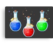 Pixel Potions Canvas Print