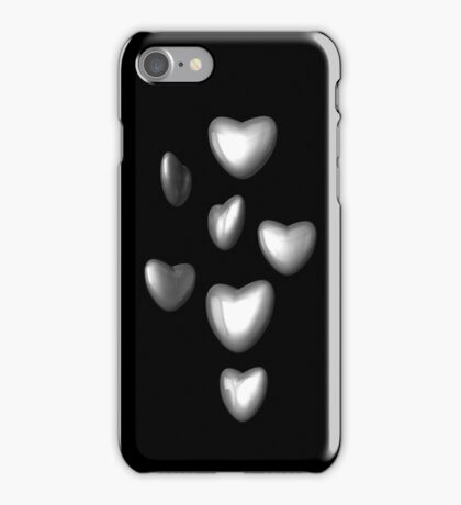 Metal Hearts iPhone Case/Skin