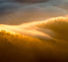 Morning Fire – Great Smoky Mountains National Park, North Carolina by Jason Heritage
