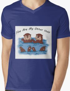 You Are My Otter Half! Mens V-Neck T-Shirt