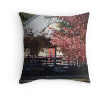Cottage House Throw Pillow