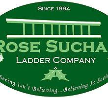 Arose Such A Clatter (Rose Suchak Ladder) - Green by madamebat