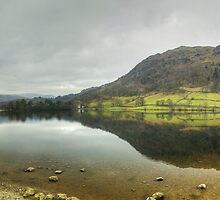 Portrait Of A Lake by Jamie  Green