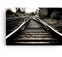 Rail Road Canvas Print