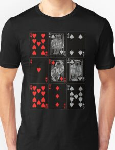 Poker Card (Black) T-Shirt