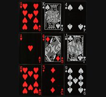 Poker Card (Black) Unisex T-Shirt
