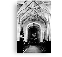 Chateau Chapel Canvas Print