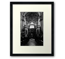 Baroque church Framed Print