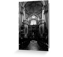 Baroque church Greeting Card