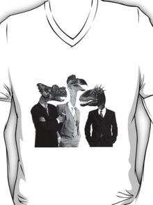 The Saurus Society - No Extinction Theory Conversation T-Shirt