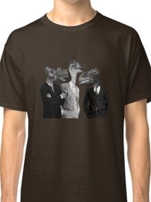 The Saurus Society - No Extinction Theory Conversation Classic T-Shirt