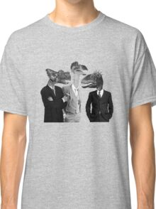 The Saurus Society - No Extinction Theory Conversation Classic T-Shirt