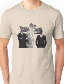 The Saurus Society - No Extinction Theory Conversation Unisex T-Shirt