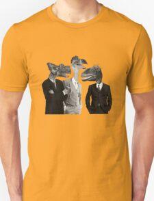 The Saurus Society - No Extinction Theory Conversation Unisex T-Shirt