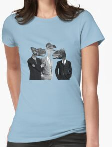 The Saurus Society - No Extinction Theory Conversation Womens Fitted T-Shirt