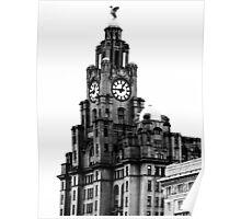 Liver building (Liverpool) Poster