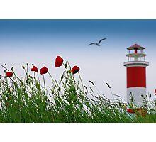 Sommer Gefühle am Leuchtturm Photographic Print