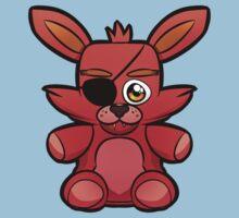 FNAF Foxy Plush Kids Tee