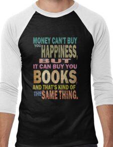 For The Love Of BOOKS! Men's Baseball ¾ T-Shirt