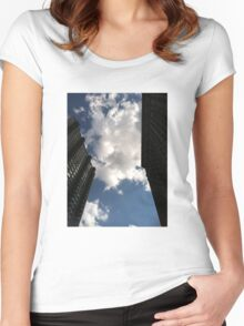 Windows in the Sky Women's Fitted Scoop T-Shirt