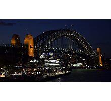Beautiful Harbour Bridge 02 Photographic Print